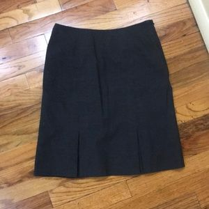 Women Pencil Skirt Charcoal Gray (Size 4)